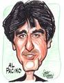 Al Pacino Caricature - al-pacino fan art