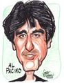 Al Pacino Caricature - al-pacino fan art