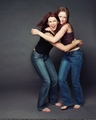 Alexis & Lauren Graham - alexis-bledel photo