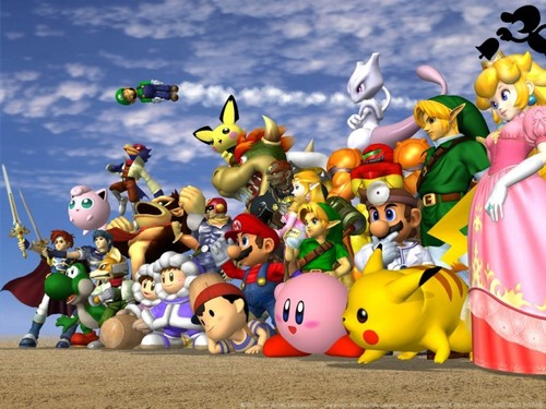 Super Smash Brothers Wallpaper Called All Melee Characters