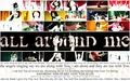 All around me - flyleaf wallpaper
