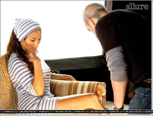 Allure (On the Set)