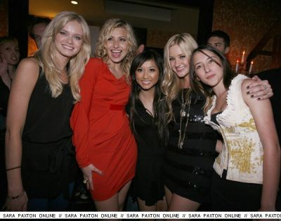 Aly and Aj's B'day Party