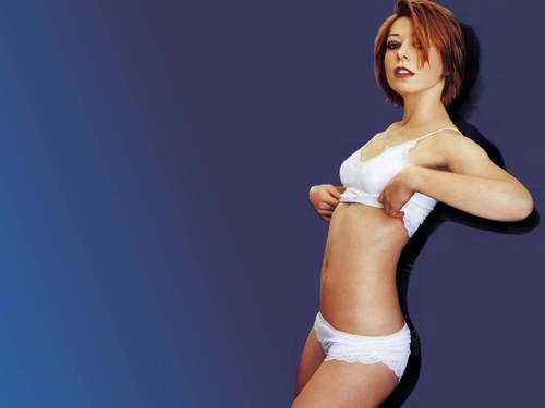 Alyson Hannigan wallpaper entitled Alyson Hannigan