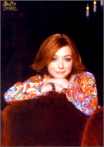 Alyson Hannigan wolpeyper called Alyson Hannigan