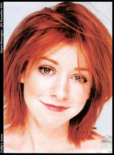 Alyson Hannigan kertas dinding called Alyson Hannigan