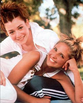 Alyson Hannigan and SMG