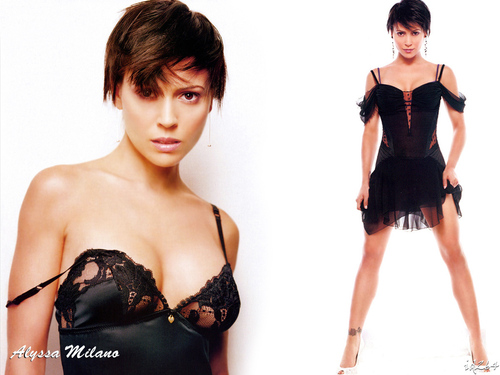 Charmed wallpaper titled Alyssa Milano