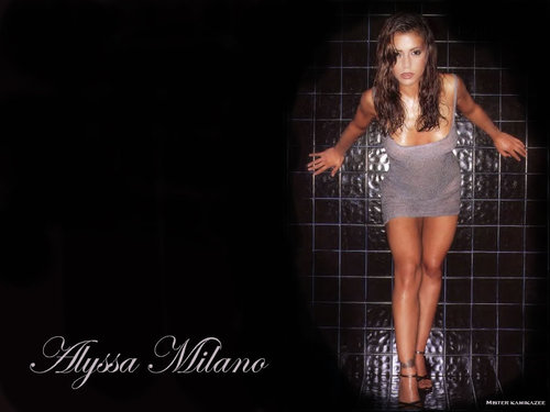 Charmed wallpaper entitled Alyssa Milano