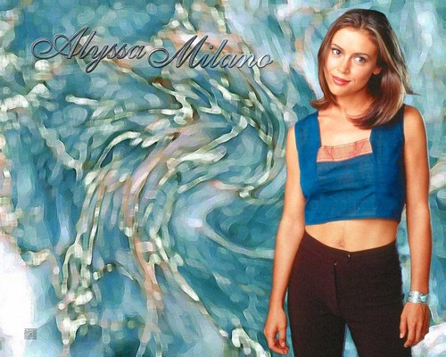 Charmed wallpaper called Alyssa Milano