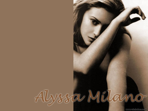 Streghe#The power of three wallpaper called Alyssa Milano