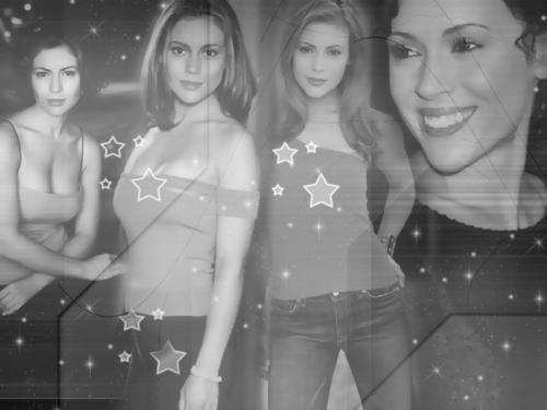Alyssa as Phoebe