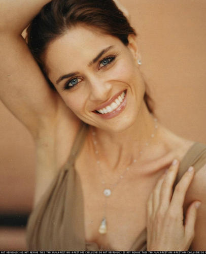 Amanda Peet wallpaper called Jack White photoshoot