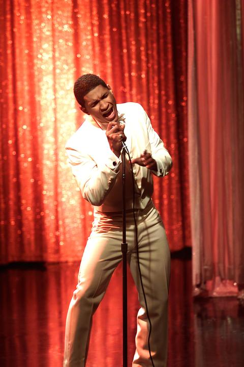 Usher as Marvin Gaye