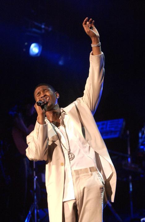 Usher as Marvin Gaye