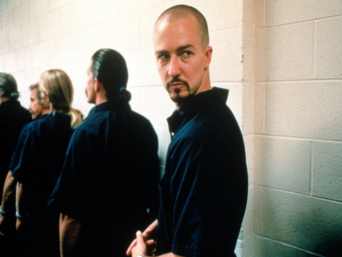 Edward Norton wallpaper titled American History X