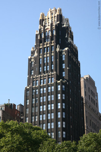 New York Обои titled American Radiator Building