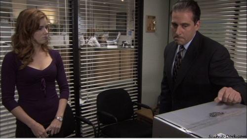 """Amy as Katy on """"The Office"""""""