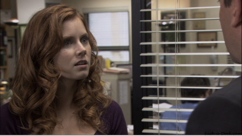 "Amy as Katy on ""The Office"