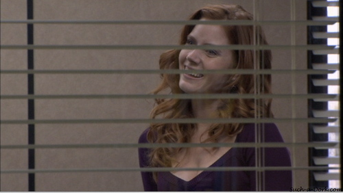 """Amy as Katy on """"The Office"""