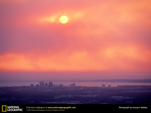 Global Warming Prevention images Anchorage Sunset HD ...