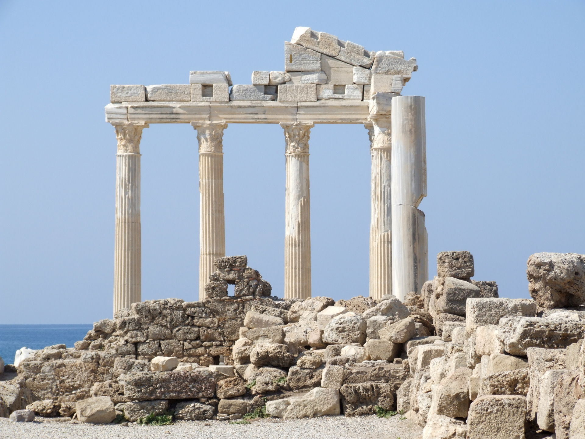 Ancient Agora - Turkey Wallpaper (602443) - Fanpop