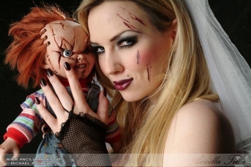 Ancilla as Bride of Chucky