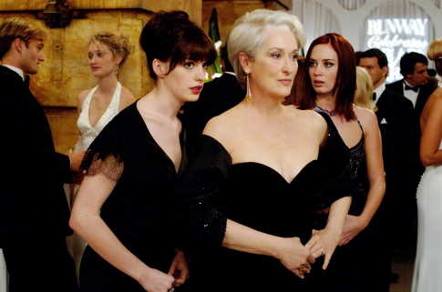 The Devil Wears Prada wallpaper titled Andy, Miranda & Emily