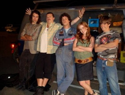 Hot Rod cast