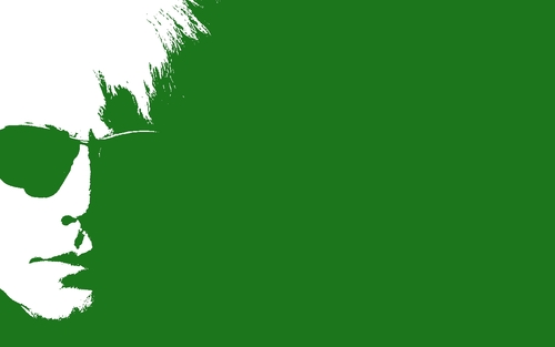 Andy Warhol (green) - andy-warhol Wallpaper