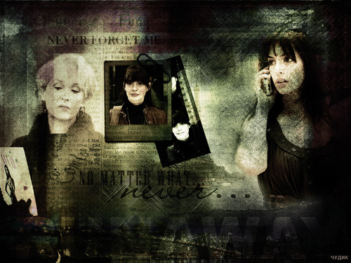 The Devil Wears Prada wallpaper titled Andy and Miranda