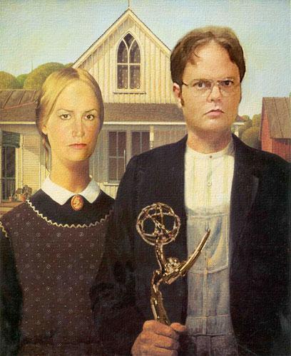 Angela & Dwight