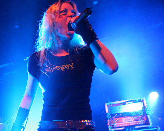 Female Lead Singers Images Angela Gossow Wallpaper And Background