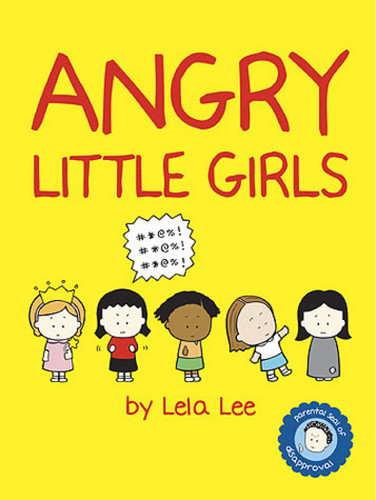 Angry Little Girls wallpaper entitled Angry Little Girls Book Cover