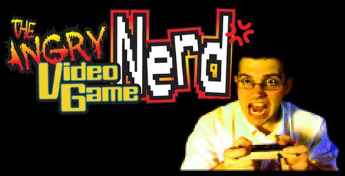 Angry Video Game Nerd Logo