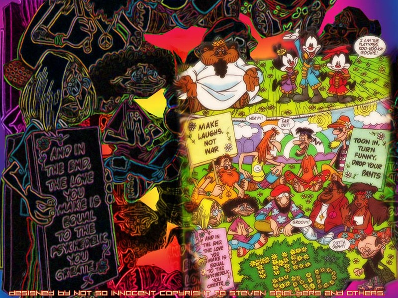 hippy wallpaper. Animaniacs: Hippie Style!