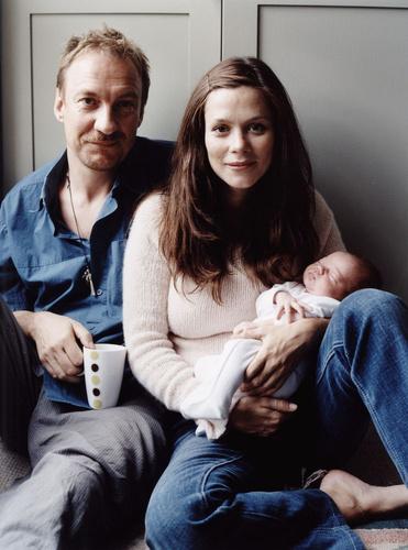 Anna, David and Gracie