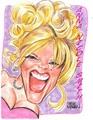 Anna Nicole Smith Caricature