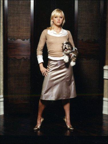 Anna in Interview Mag