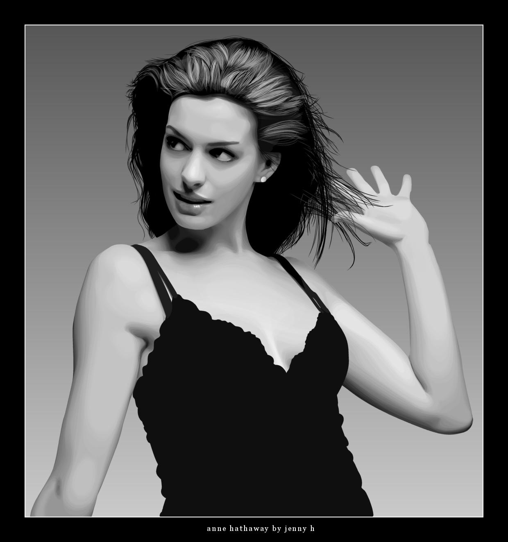 Anne Hathaway Fan Art (97234)