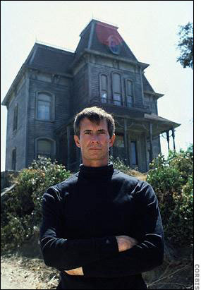 Psycho wallpaper entitled Anthony Perkins-Bates Mansion