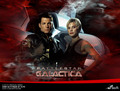 Apollo and Starbuck - battlestar-galactica photo