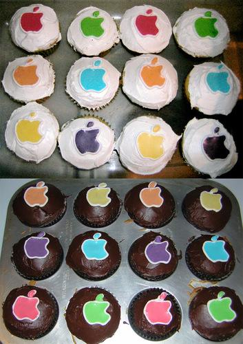 सेब कपकेक