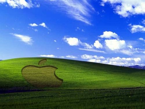 appel, apple XP