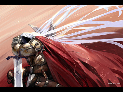 Arch Angel Tyrael - fantasy Wallpaper