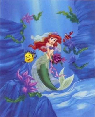 Ariel & menggelepar