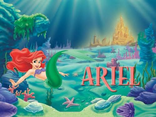 the little mermaid wallpaper called Ariel
