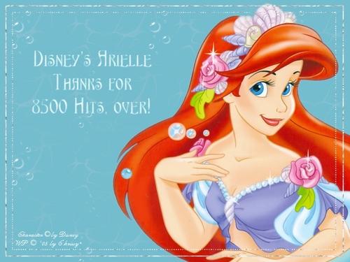 The Little Mermaid kertas dinding entitled Ariel