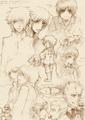 Artemis Fowl Sketches