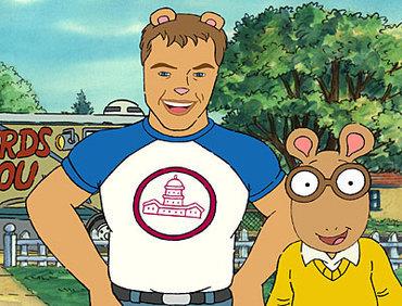 Matt Damon achtergrond titled Arthur Damon